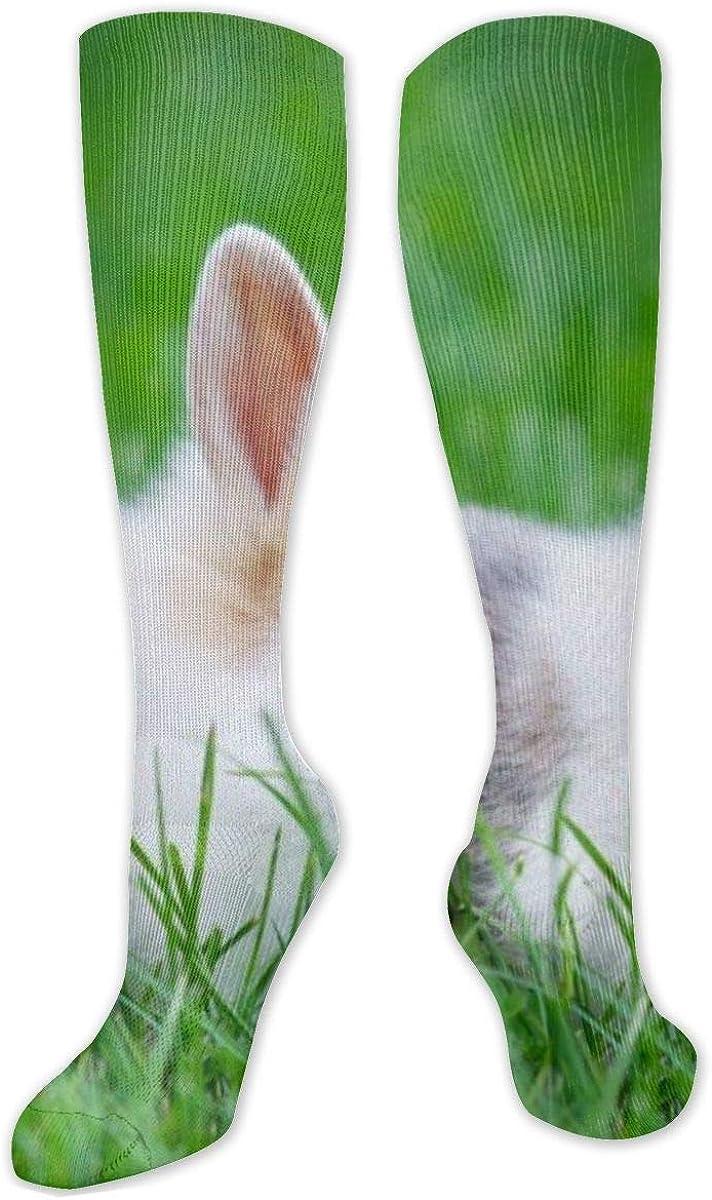 Cute Bunny Knee High Socks Leg Warmer Dresses Long Boot Stockings For Womens Cosplay Daily Wear