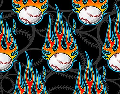GOCHAN Kit de pintura de diamante 5D DIY,pelota de softbol de béisbol imprimible,Pintura de diamante para decoración de pared del hogar Arte 30x40cm