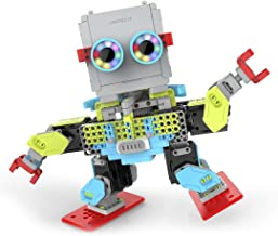 UBTECH Jimu Robot MeeBot 2.0 App-Enabled Building and Coding STEM Robot Kit (390 pcs)