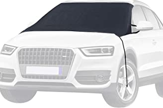 MITALOO Windshield Snow Cover Ice Removal Wiper Visor Protector All Weather Winter Summer Auto Sun Shade for Cars Trucks Vans and SUVs Stop Scraping Fits Most Car, SUV, Truck, Van or Automobile