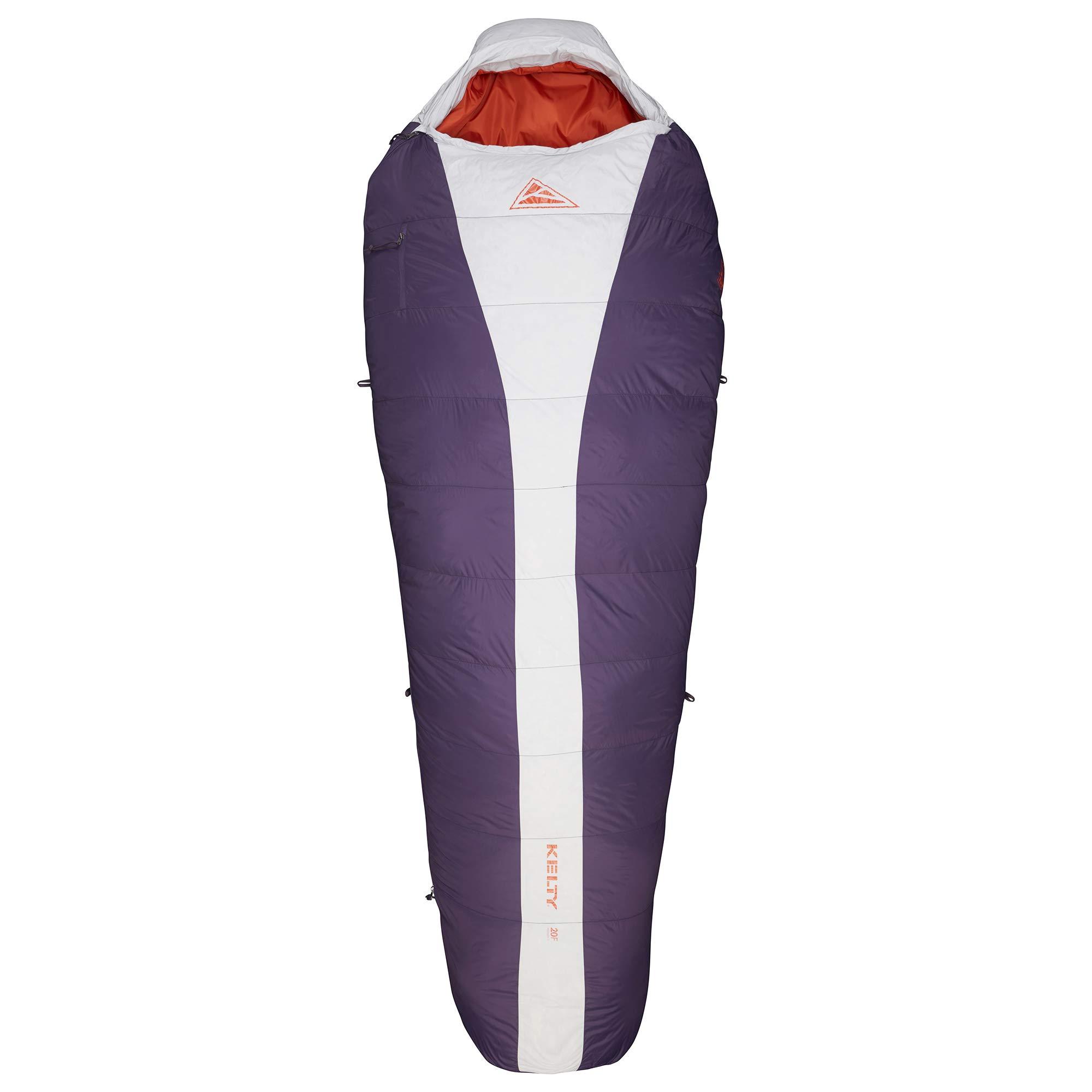 Kelty Cosmic - Saco de dormir para acampada (plumón de 20 grados), ultraligero - 35413819RR, regular para mujer, Womens Regular, Vapor: Kelty: Amazon.es: Deportes y aire libre