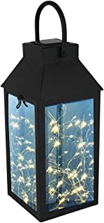 Solar Hanging Lights, Tomshine Outdoor Solar Lantern with 30 LEDs, IP44 Waterproof Landscape LED Lamp with Handle, DIY String Lights