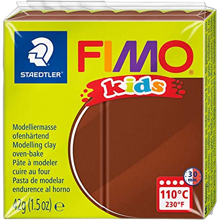 FIMO 8030-7 - Pasta de Modelar, Color Marrón, 42g