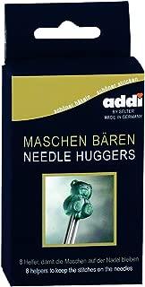 addi Knitting Needle Teddy Bear Needle Huggers Point Protectors Set of 8