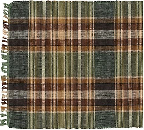 Park Designs Wood River Kitchen Table Runner Green Brown Tan product image