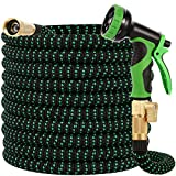 Best Garden Hoses - Buheco Garden Hose 100ft-Water hose with 9 Function Review
