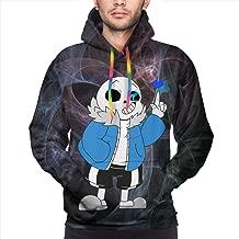 3D Novelty Hoodies 123 Pullover Sweatshirts for Men