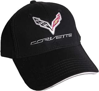 Gregs Automotive Compatible Corvette C7 Hat Cap Chevrolet Chevy Black - Bundle Driving Style Decal