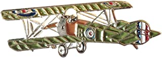 Mainly Metal ™ Spilla smaltata Sopwith Camel WW1 Biplano (spilla da 32 mm) RAF Military Flying Corps 1st World War