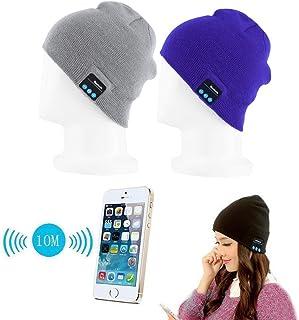"Fone-Case Amazon Fire Kids Edición 7""inalámbrico Bluetooth gorro con auriculares estéreo auriculares altavoz y manos libres buit-in azul"