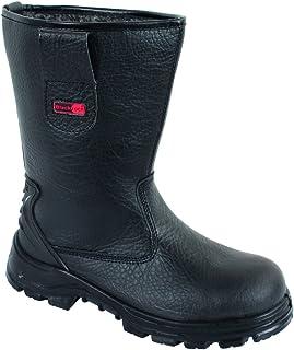 Blackrock SF01B Fur Lined Safety Rigger Boot (Black) S1-P