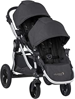 Baby Jogger City Select Double Stroller   Baby Stroller with 16 Ways to Ride, Included Second Seat   Quick Fold Stroller, Jet