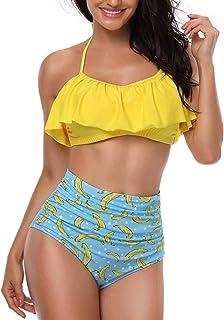 mejor selección 3f78e 09d6e Amazon.es: Amarillo - Conjuntos / Bikinis: Ropa