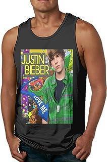 メンズ タンクトップ Justin Bieber サマースポーツとフィットネス トップス