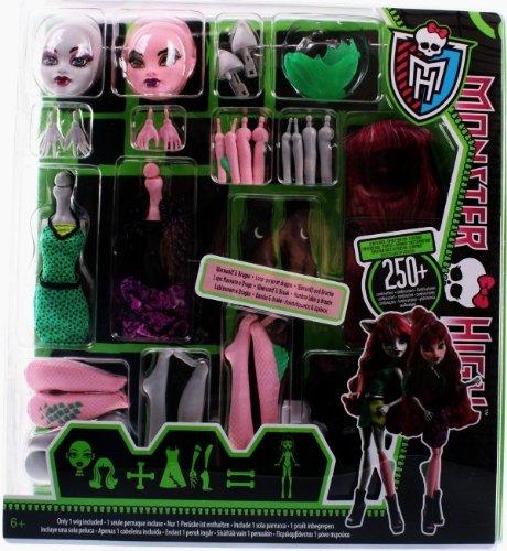 Monster High Stwórz wlasnego potwora Wilkolak i smok