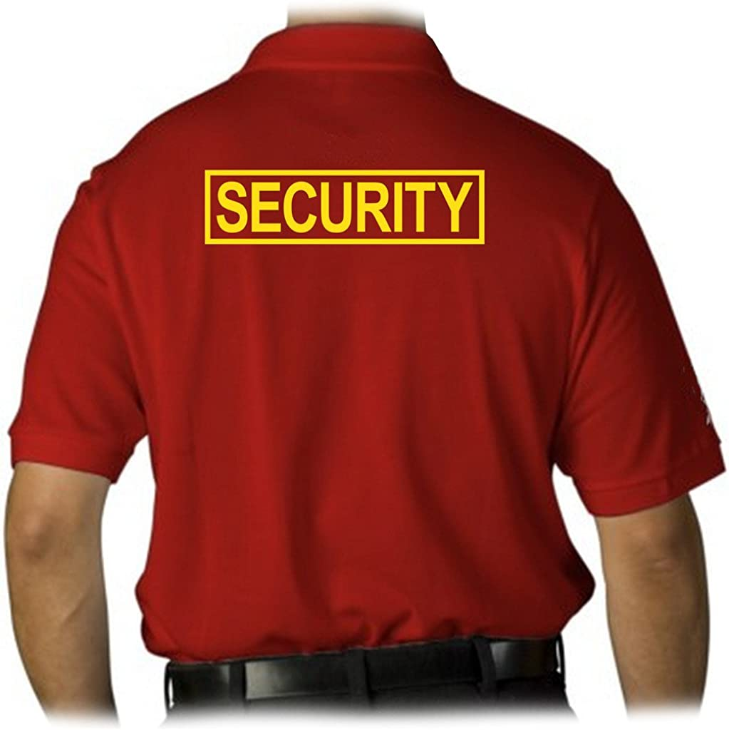 Gs-eagle Men's Security Guard T-Shirt Graphic Max 63% Save money OFF Polo