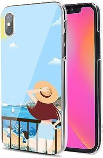LG G8X ThinQ ケース カバー ハード TPU 素材 おしゃれ かわいい 耐衝撃 花柄 人気 全機種対応 夏の風 かわいい ファッション アニメ 11900146