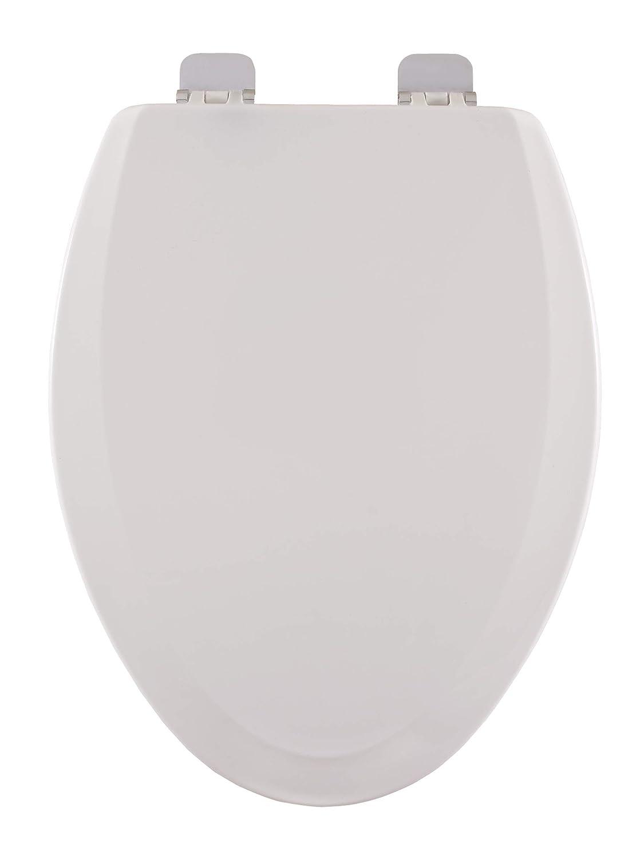 Centoco 900BN-001 Popular standard Elongated Wooden Louisville-Jefferson County Mall Toilet Duty Seat Molde Heavy