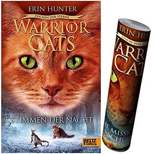 Beltz & Gelberg Warrior Cats - Zeichen der Sterne. Stimmen der Nacht: Staffel IV, Band 3 + Warrior Cats Poster