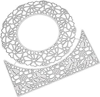 Fogun Cercle Matrices De Découpe, Metal Coupe Dies, BRICOLAGE Scrapbooking Cutting Dies DIY Carte Cadeau Pour Noel