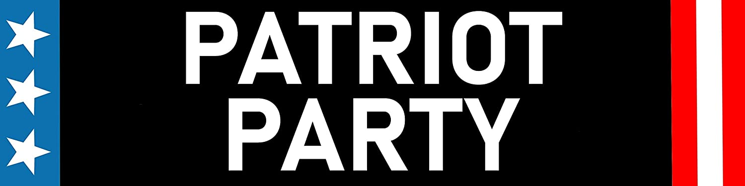 Patriot Ranking TOP7 Party Magnet Bumper Sticker Resistant Fade Waterproof Daily bargain sale In
