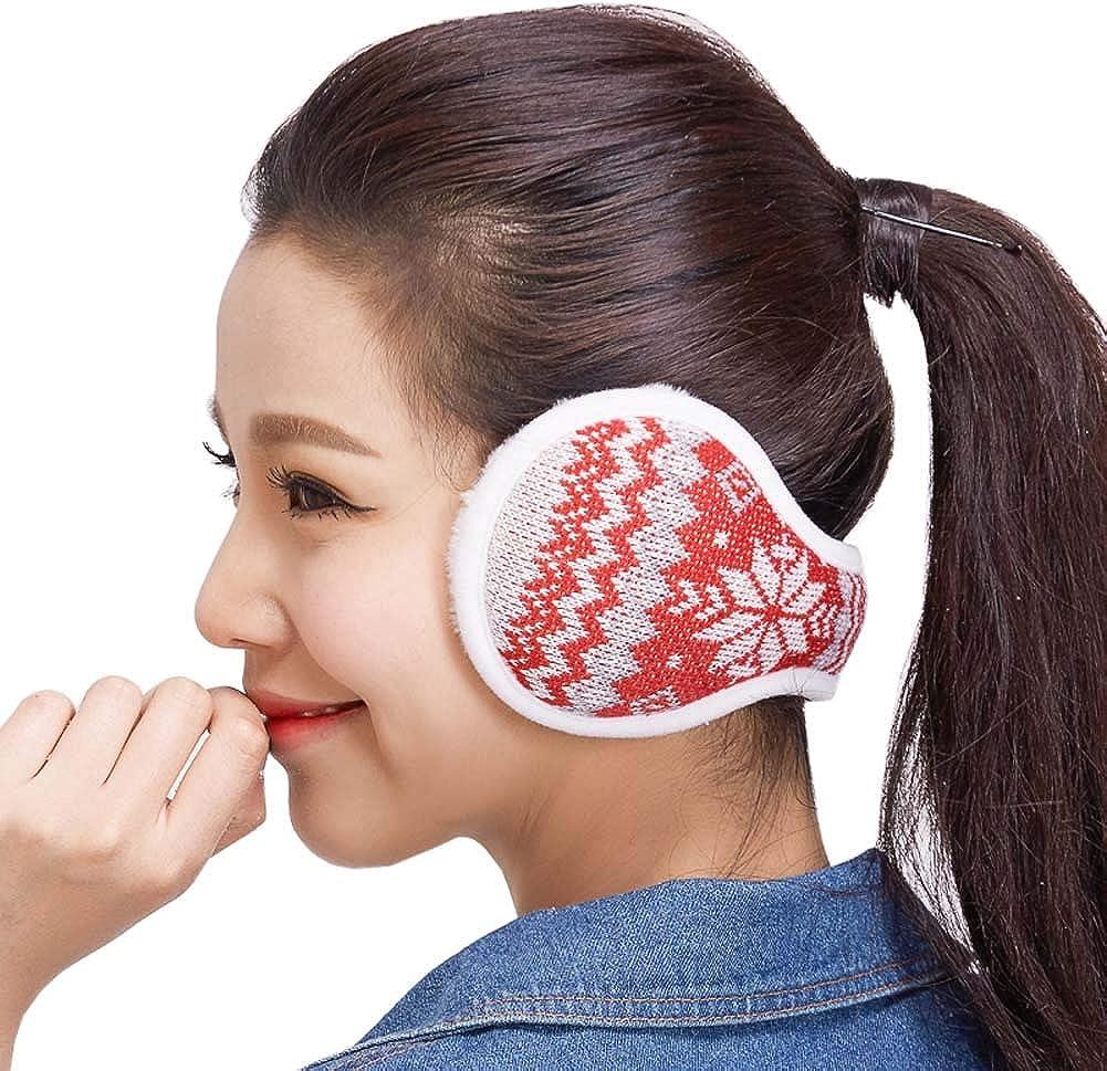 Classical Design Warm Ear Cover Warm Earmuffs Cold Weather Earmuffs Winter Outdoor Earmuffs for Unisex, E-04
