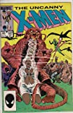 Uncanny X-Men #187 Comic Book