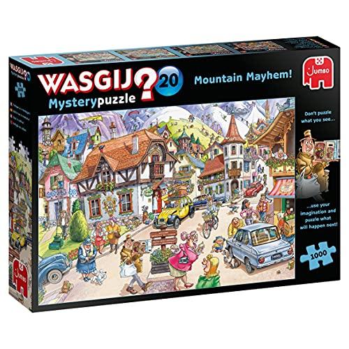 Jumbo, Wasgij, Mystery 20 - Mountain Mayhem!, Jigsaw Puzzles for Adults, 1,000 piece