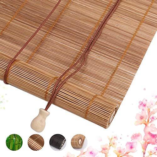 Persianas Enrollables de Bambú Persianas Enrollables Anchas Bambusrollos 40/80/120/160 cm Disponibles…