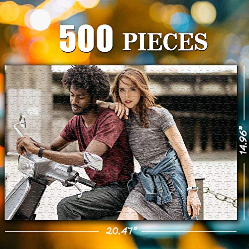 Custom Photo Jigsaw Puzzle for Adults 500 Pieces - Personalized Photo Funny Gifts Custom Puzzles from Photos for Kids Mother's Day DIY Gift Stay at Home Wedding Gifts Family Love Friends