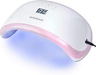 MelodySusie 36W UV LED Nail Lamp Dryer, Smart LED Gel Curing Light, Compact Manicure Pedicure Nail Art Lamp with 3 Timer Setting, Intelligent Sensor for Acrylic, Gel Nail Polish