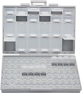 AideTek BOXALL96 96 Lids Enclosure SMD SMT Parts Organizer Surface Mount Box Labels