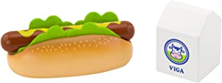 Viga Toys - 51601 - Play Set - Hot Dog with Milk
