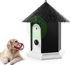 Super Ultrasonic Outdoor Bark Control Device in Birdhouse Shape 2018 Newest Generation