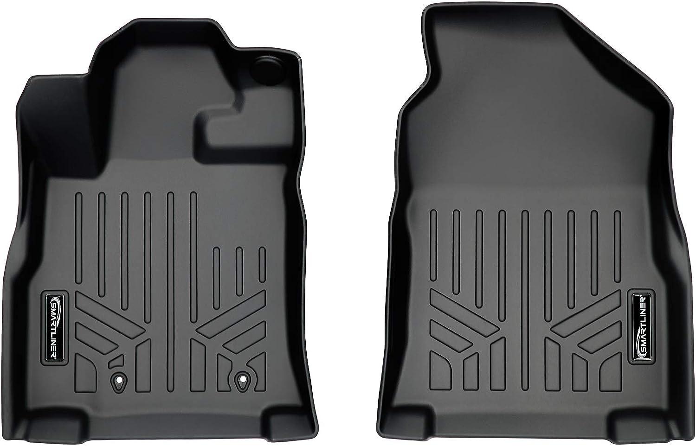 Max 90% OFF SMARTLINER Custom Fit Floor Mats 1st Super intense SALE Row Set 201 Liner Black for
