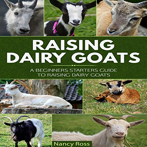Raising Dairy Goats audiobook cover art