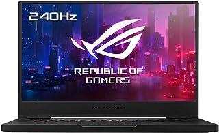 "ASUS ROG Zephyrus M15 GU502LW-AZ196T - Portátil Gaming de 15.6 "" FullHD 240Hz (Intel Core i7-10875H, 32GB RAM, 1TB SSD, NVIDIA RTX2070-8GB, Windows 10 Home) Negro - Teclado QWERTY español"