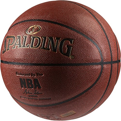 Spalding Nba Gold In/Out 76-014Z Balón de baloncesto, Naranja, 7