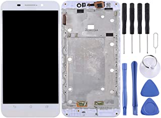 Mobile Phone LCD Screen LCD Screen and Digitizer Full Assembly with Frame for Asus ZenFone Max / ZC550KL / Z010DA (Black) LCD Screen (Color : White)