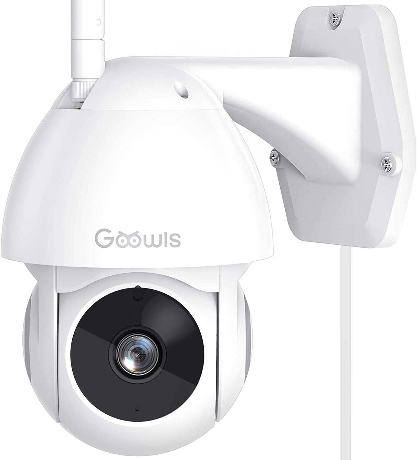 Security Camera Outdoor Goowls 1080P Pan Tilt Max 80% OFF Max 84% OFF Sm WiFi 2.4G Home