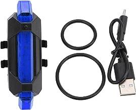 YUUGAA 918 fiets achterlicht,fiets 918 achterlicht USB opladen nacht rijden veiligheidswaarschuwingslampje buiten LED-licht