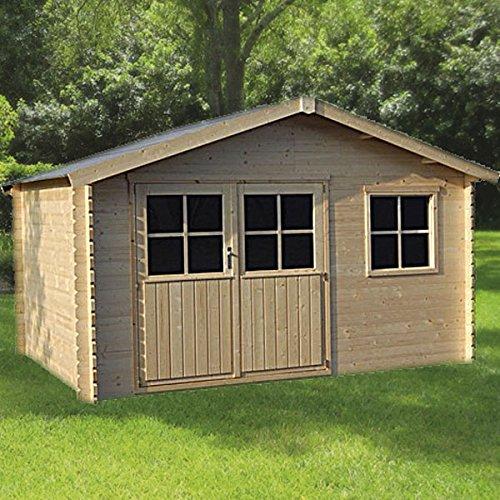 DECOR ET JARDIN Caseta flodeal (madera de abeto del Norte 10,17M²–28mm