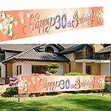 Feliz 30 Cumpleaños,Pancarta Feliz Cumpleaños,Fondo Foto Cumpleaños,30 Años Cumpleaños Decoración,Feliz Cumpleaños Decoracion,30 Aniversario