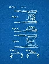Star Trek Vulcan Shuttle Patent Print Blueprint (8
