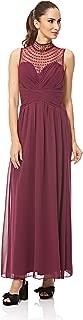 Little Mistress A Line Dress For Women - Burgundy L