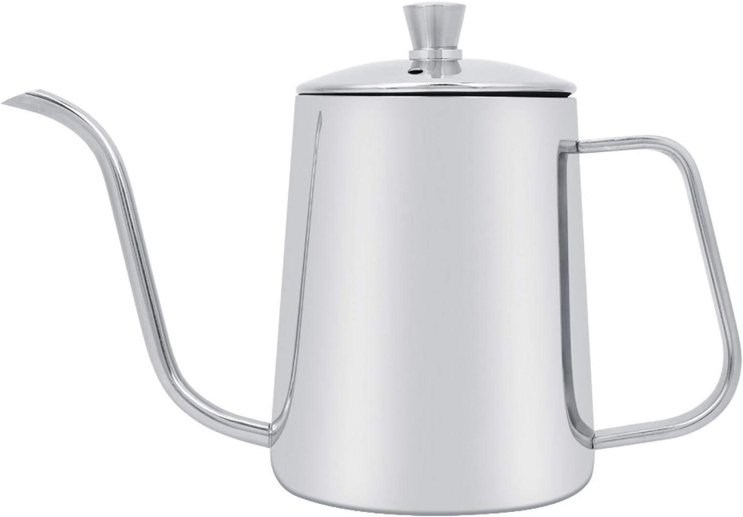 550ml Max 47% OFF Stainless Steel Coffee Kettle Spout Gooseneck Long Overseas parallel import regular item Narrow