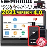 2021 Elite Ver. LAUNCH X431 V 4.0 Bi-Directional Scan Tool Full System OBD2 Scanner,ECU Online Coding,Actuation Test,Key IMMO,31+ Reset Functions,AutoAuth for FCA SGW,Free Update + EL-50448 TPMS Tool