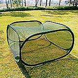 Invernadero plegable de malla transpirable con soporte de alambre metlico, fcil almacenamiento, ahorro de espacio, plantas de jardn Growbox Hoth