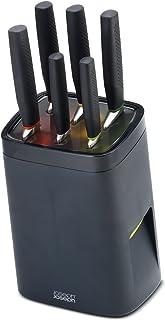 Joseph Joseph - Lock Block - Bloc de Couteaux Sécurité avec 6 Couteaux Intégrés