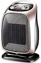 JCCOZ -URG - Calefactor eléctrico de cerámica para espacios de 1500 W personales, termoventilador de sobrecalentamiento y Tilt de protección para un uso doméstico URG